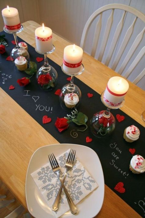 How To Decorate Your Dining Table For Valentine S Day Furniture Home Decor Interior Design Gift Ideas