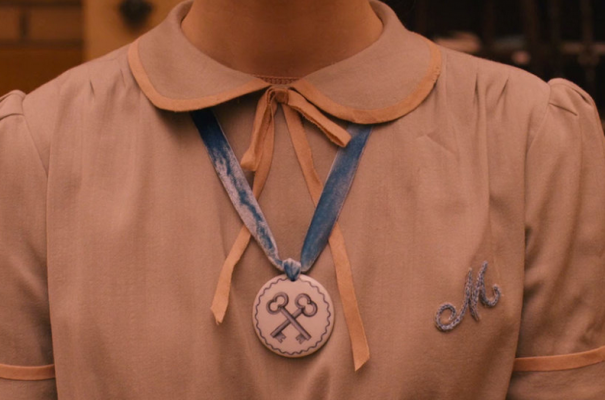 Agatha's Society of the Crossed Keys necklace.