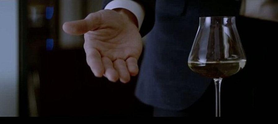 Christian Baccarat Wine Glass