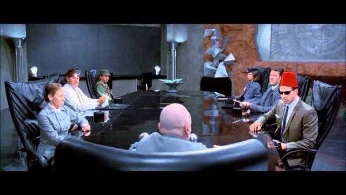 dr. evil meeting