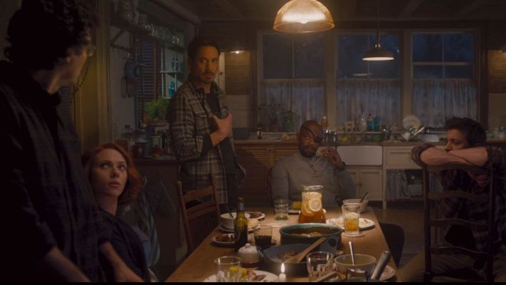 avengers in country kitchen