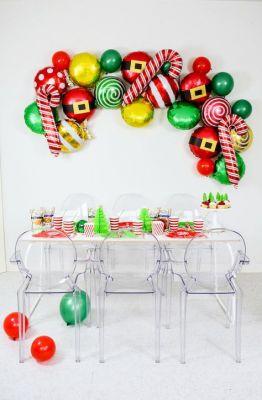 elf candy balloon