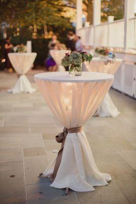 fairy light table