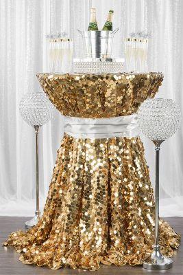 glitzy table look