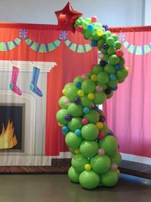 star green balloon