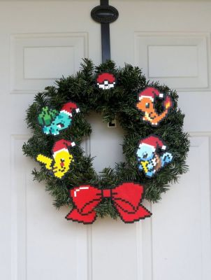 Pokemon Christmas Wreath
