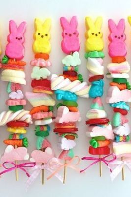 skewered candy