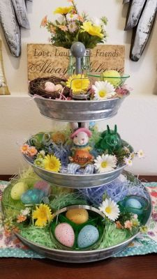 tiered easter