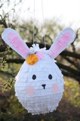 bunny white pinata