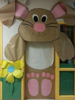 brown bunny door