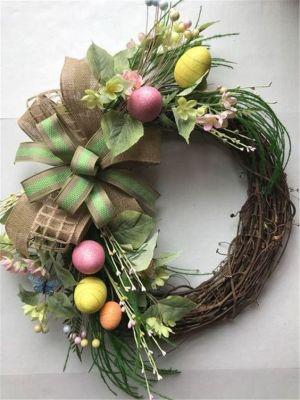 nature egg wreath