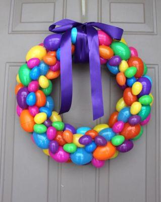 plastic wreath