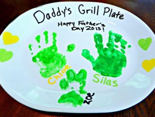 green plate