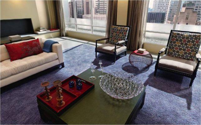 shot Van Der Woodsen living room