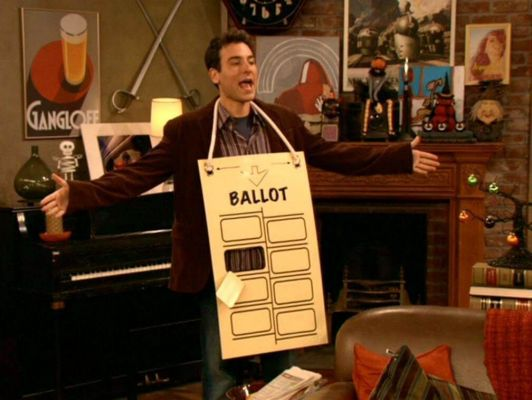 Ted hanging chad