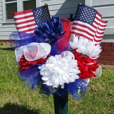 flag bouquet