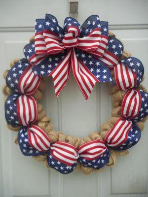 simple rustic wreath
