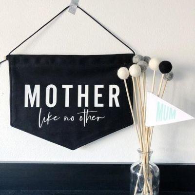 fabric flag mom