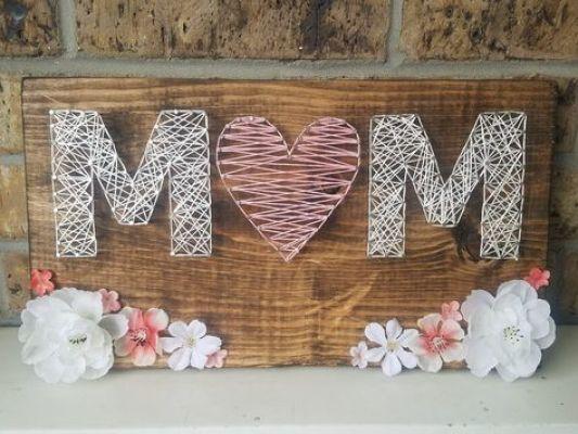 string art mom
