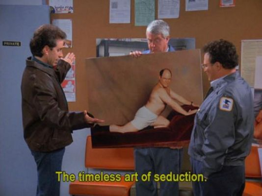 Jerry showing painting