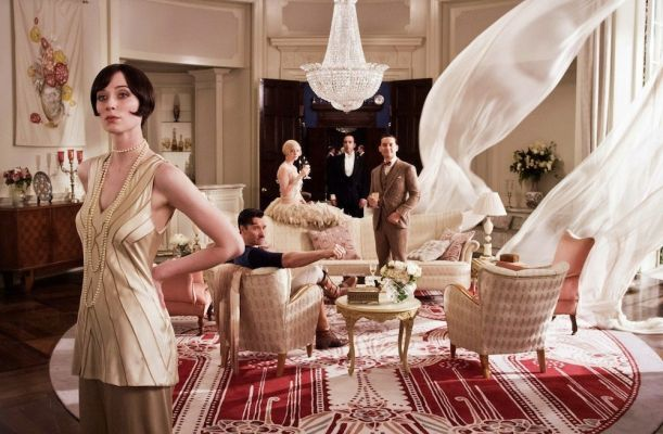 the pink room great gatsby