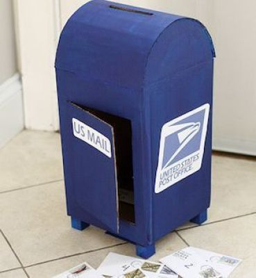 actual mail box