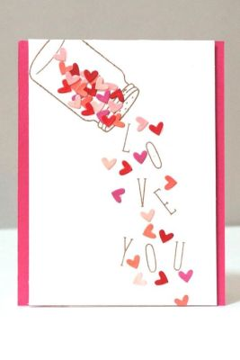 shake love card
