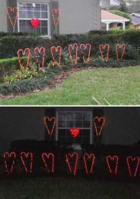 hearts garden