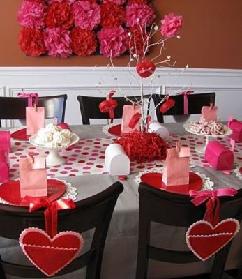 pink pink table