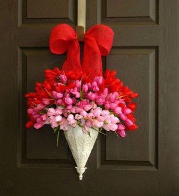 bouquet wreath