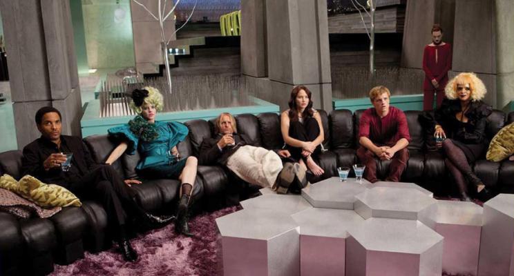 group meeting in living room