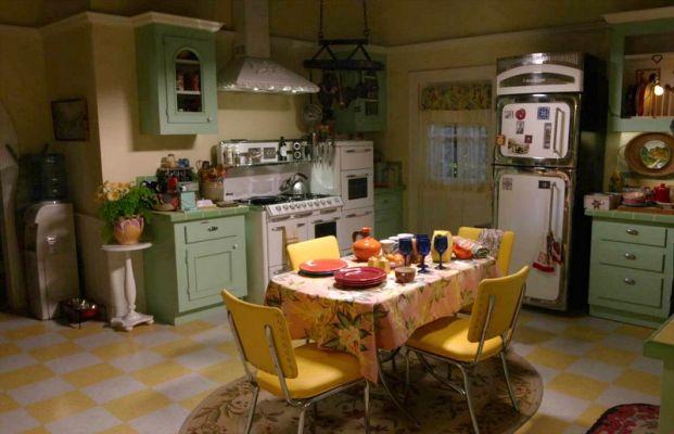 Lorelai's kitchen