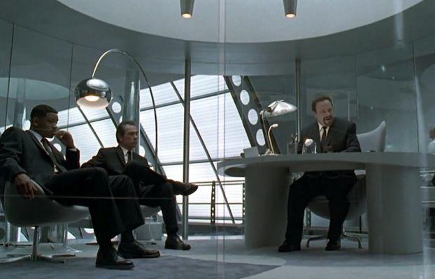 The gray carpet inside Agent Z's office.