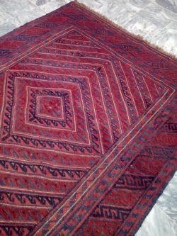 6 x 4.9 Afghan Mashwani Rug