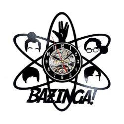 Big Bang Theory Vinyl Record Clock