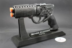 Constant K's Blaster Pistol with Custom Stand