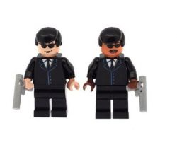 Custom Design Minifigure – Men in Black