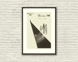 2001: A SPACE ODYSSEY – Kubrick Inspired Poster