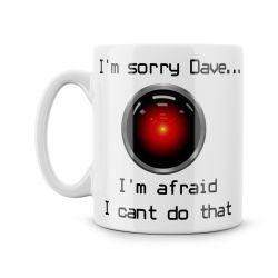 I'm Sorry Dave Parody Ceramic Mug