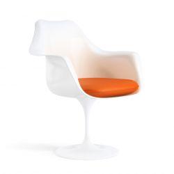 Eero Saarinen Tulip Arm Chair, Carrot