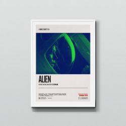 Alien (1979) – Retro Movie Poster Art