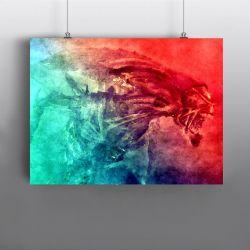 Alien Xenomorph Queen – Bug Hunt Art Print