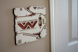 USCSS Nostromo Light Switch Cover Plate