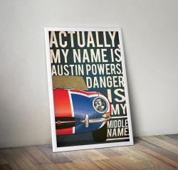Austin Powers Alternative Poster