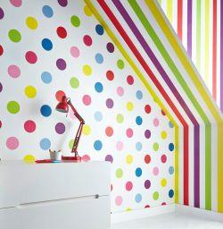 Graham & Brown Bright Stripes Wallpaper Roll