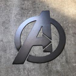 Avengers Metal Sign, Logo Plaque
