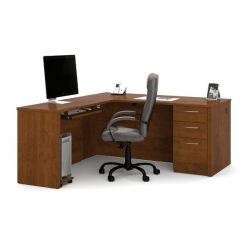 Latitude Run Karyn Reversible L-Shape Executive Desk