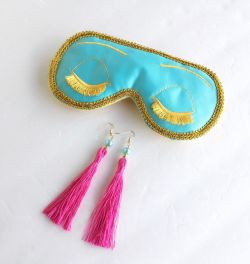 Big Little Lies Mask Earrings