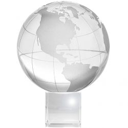Amlong Crystal Globe on Stand