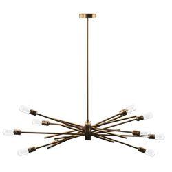 Mercury Row Byler 10-Light Sputnik Chandelier